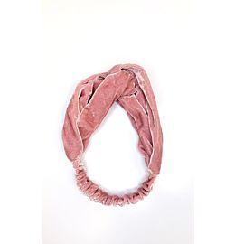 Velvet Headband Light Pink