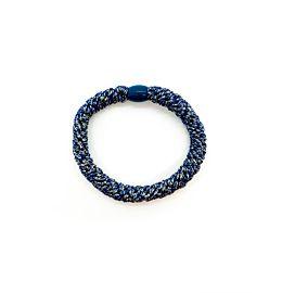 Hoops Shiny Blue Organza