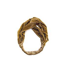 Velvet Headband Brown